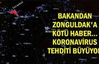 Bakandan Zonguldak'a kötü haber... Koronavirus tehditi büyüyor