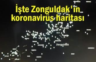 İşte Zonguldak'ın korona virüs haritası