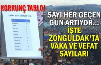 Korkunç tablo! Sayı her geçen gün artıyor… İşte Zonguldak'ta vaka ve vefat sayıları