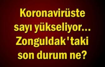 Koronavirüste sayı yükseliyor... Zonguldak'taki son durum ne?