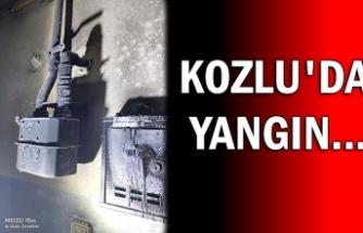 Kozlu'da yangın...