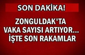 Zonguldak'ta vaka sayısı artıyor... İşte son rakamlar