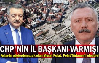 CHP'nin il başkanı varmış! Aylardır gözlerden uzak olan Murat Pulat, Polat Türkmen'i eleştirdi