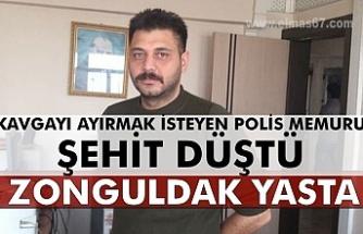 Zonguldak yasta... Polis memuru şehit düştü