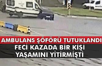 Güvenlikçinin ölümüne neden olmuştu: Ambulans şoförü tutuklandı...