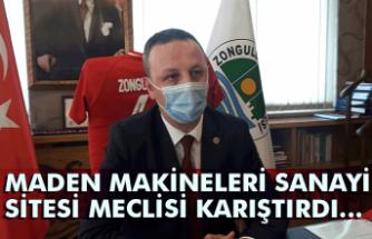 Maden makineleri sanayi sitesi meclisi karıştırdı... Ömer Selim Alan'dan açıklama