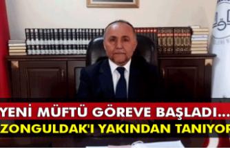 Yeni müftü göreve başladı... Zonguldak'ı yakından tanıyor