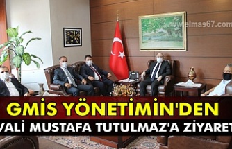 GMİS yönetimin'den Vali Mustafa Tutulmaz' ziyaret