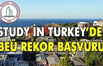 Study in Turkey'de BEÜ rekor başvuru
