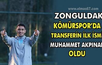 Zonguldak Kömürspor'da transferin ilk ismi Muhammet Akpınar oldu.