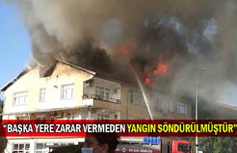 """""""Başka Yere Zarar Vermeden Yangın Söndürülmüştür"""""""