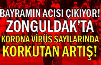 Bayramın acısı çıkıyor! Zonguldak'ta Korona virüs sayılarında korkutan artış!