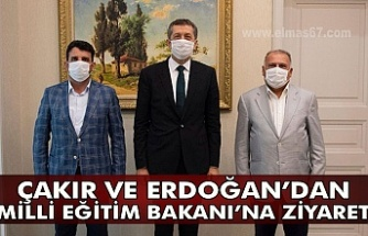 Çakır ve Erdoğan'dan Milli Eğitim Bakanı'na ziyaret