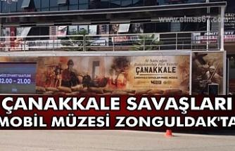 Çanakkale Savaşları Mobil Müzesi Zonguldak'ta