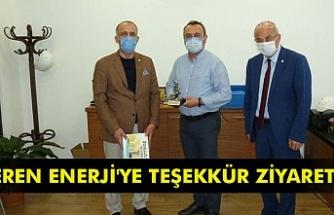 Eren Enerji'ye teşekkür ziyareti