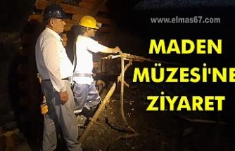 Maden Müzesi'ne ziyaret.