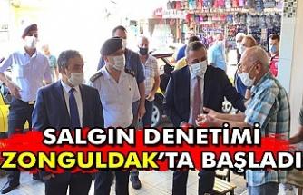 """""""Salgın denetimi Zonguldak'ta başladı"""""""