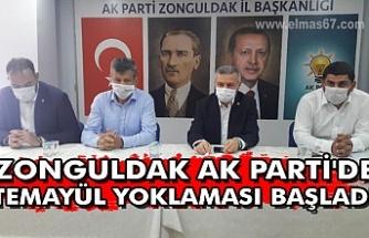 Zonguldak AK Parti'de temayül yoklaması başladı
