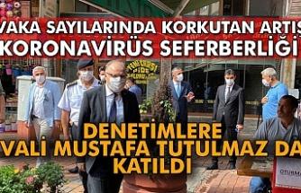 Zonguldak'ta Corona virüs seferberliği