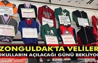 Zonguldak'ta veliler okulların açılacağı günü bekliyor
