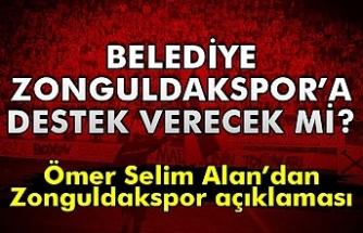 Başkan Zonguldakspor'a destek verecek mi?