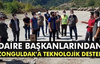 Daire Başkanlarından Zonguldak'a teknolojik destek