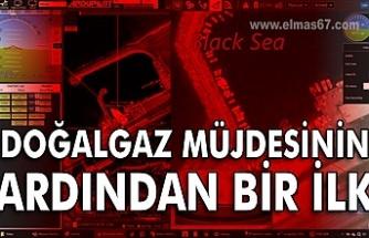 Karadeniz'de doğalgaz müjdesinin ardından bir ilk