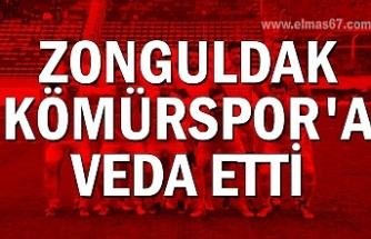 Zonguldakspor'a veda etti
