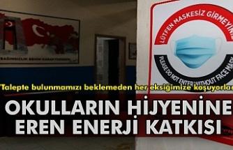 Eren Enerji'den okulların hijyenine destek