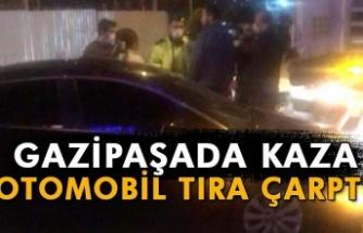 Gazipaşa'da kaza