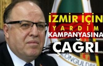 İzmir için yardım kampanyasına çağrı
