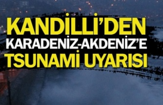 Karadeniz-Akdeniz'e tsunami uyarısı