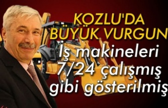 Kozlu'da büyük vurgun... İş makineleri 7/24 çalışmış gibi gösterilmiş