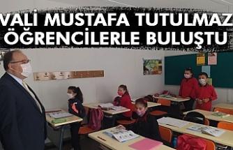 Vali Mustafa Tutulmaz öğrencilerle buluştu
