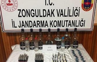 Etil alkol satan şüpheli gözaltında