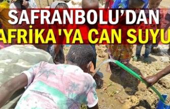 Safranbolu'dan Afrika'ya can suyu