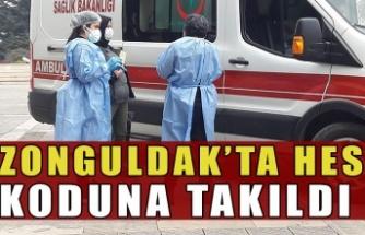 Zonguldak'ta hes koduna takıldı