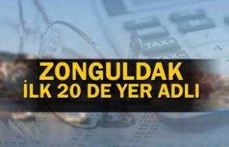 Zonguldak Tahsilatta 13'üncü Sırada