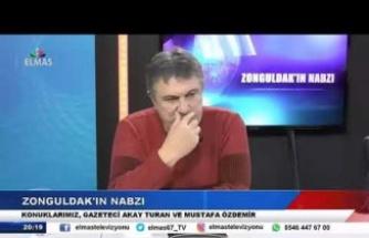 11 Ocak 2019 Zonguldakın Nabzı Gazeteci Mustafa Özdemir, Akay Turhan Bölüm 1