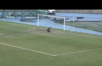 Yok böyle bir gol! Bu gol kalecinin aklını alır...