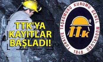 TTK'ya kayıtlar başladı!