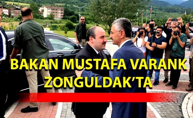 Bakan Mustafa Varank Zonguldak'ta