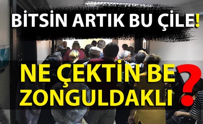 Bitsin artık bu çile! Ne çektin be Zonguldaklı?