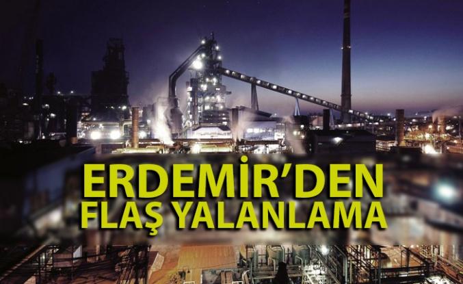 Erdemir'den 'British Steel' açıklaması