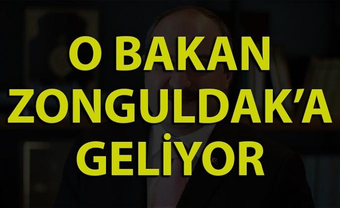 Sanayi ve Teknoloji Bakanı Zonguldak'a geliyor