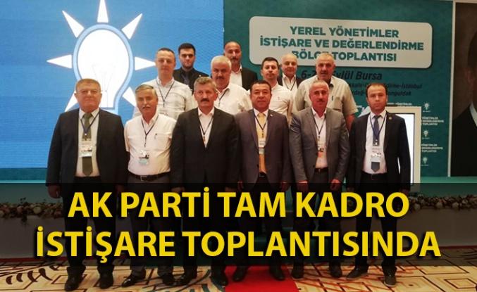AK Parti tam kadro istişare toplantısında