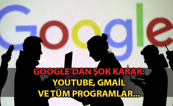 Google'dan Türkiye'ye yaptırım tehdidi