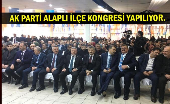 AK Parti Alaplı İlçe kongresi yapılıyor