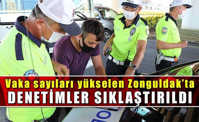 Vaka sayıları yükselen Zonguldak'ta denetimler sıklaştırıldı