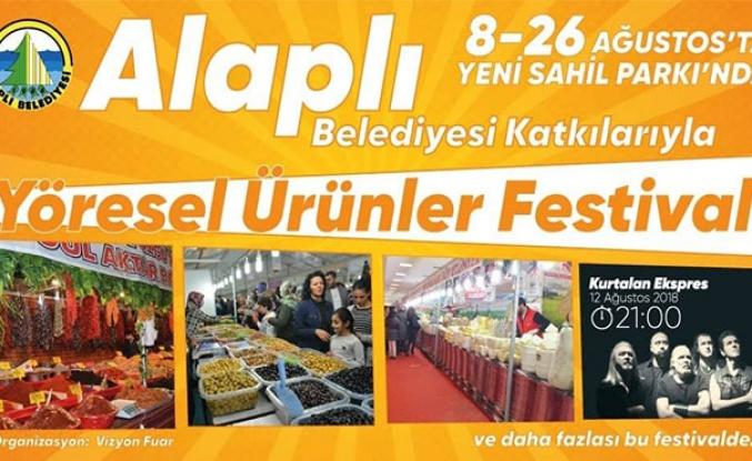 Alaplı'da Yöresel Ürünler Festivali
